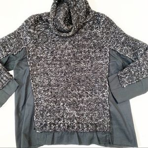 Marc by Marc Jacobs Black & Silver Sweater (M)